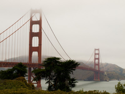 Golden Gate Bridge in San Francisco, California Photographic Print by Stacy Gold