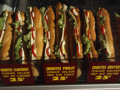 Sandwiches for Sale Photographic Print by Paul Chesley