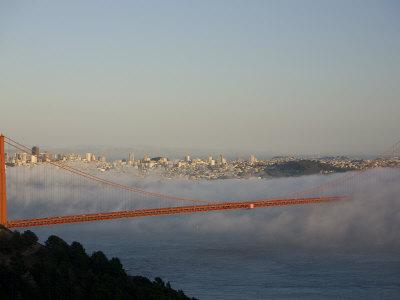 Golden Gate Bridge from Marin Headlands Photographic Print by Richard Nowitz