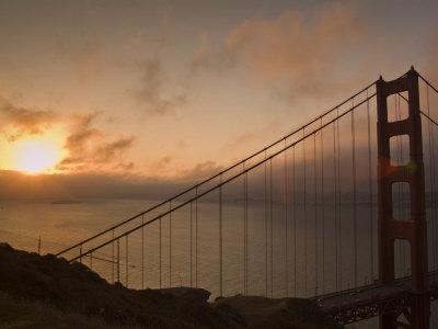 Golden Gate Bridge Photographic Print by Richard Nowitz