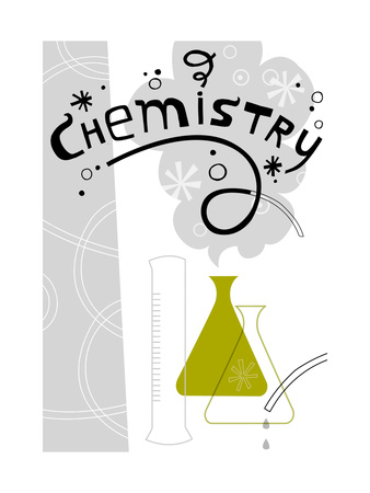 Chemistry Science Lab Kunsttryk
