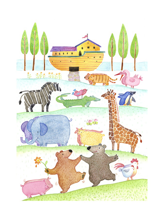 Road to Noah's Ark Posters