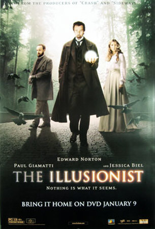 The Illusionist Original Poster