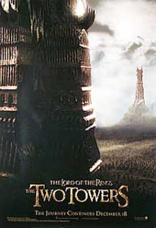 The Lord Of The Rings: The Two Towers Póster