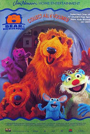 Bear In The Big Blue House Posters