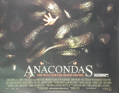 Anacondas Original Poster