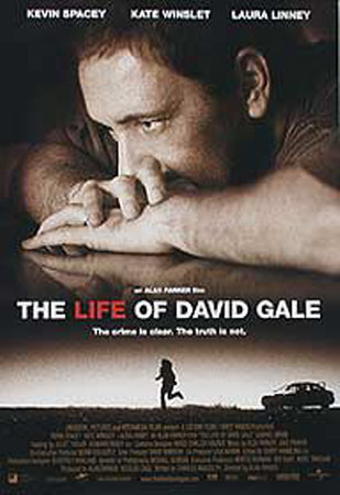 The Life Of David Gale Original plakat