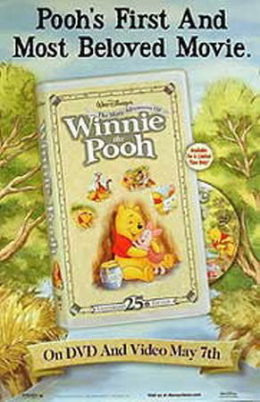 Winnie l'ourson Affiche originale