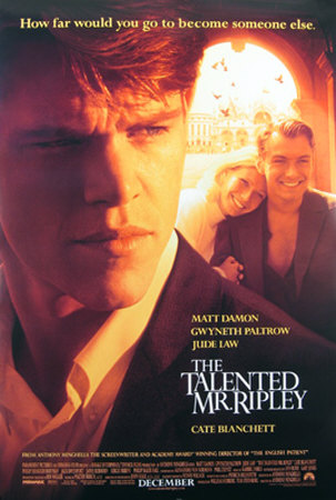 The Talented Mr. Ripley Double-sided poster