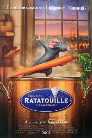 Ratatouille Affiche double face