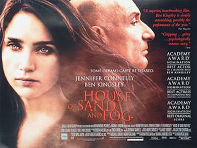 House Of Sand And Fog Posters