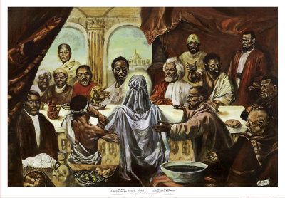 Last Supper Art Print