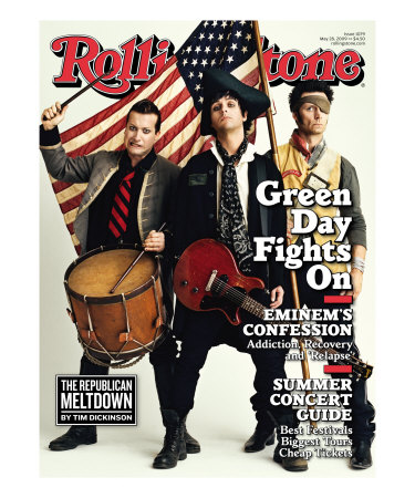 Green Day, Rolling Stone no. 1079, May 28 2009 Fotografie-Druck