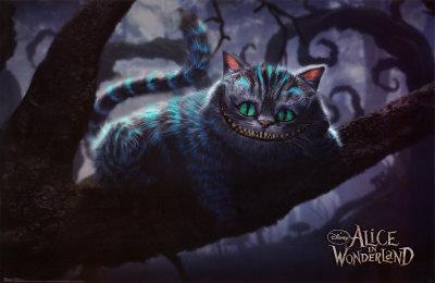 Alice In Wonderland - Cheshire Cat Póster