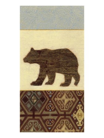 Lodge Bear Giclee Print