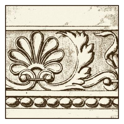 Sepia Detail VI Poster