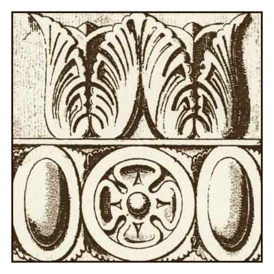 Sepia Detail III Art