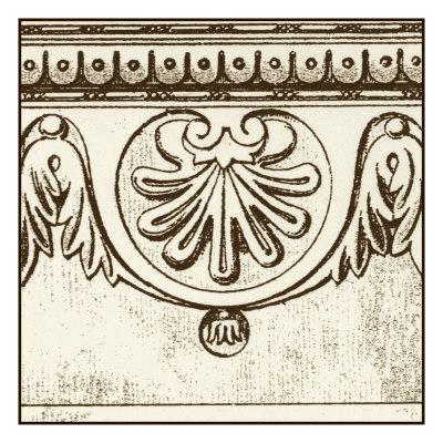Sepia Detail II Posters