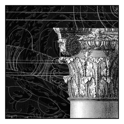 Graphic Cornice III Prints