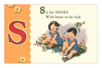 S is for Shoes Premium Poster