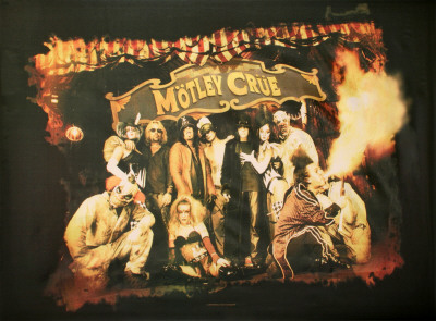 Motley Crue - Circus Fabric Poster