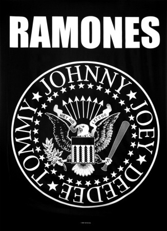 Ramones - Eagle Logo Print