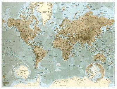 Planisphère Print