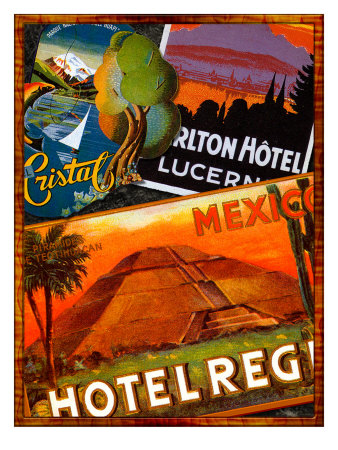 Mexico Giclee Print by Kate Ward Thacker