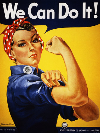 We Can Do It! (Rosie the Riveter) Konsttryck