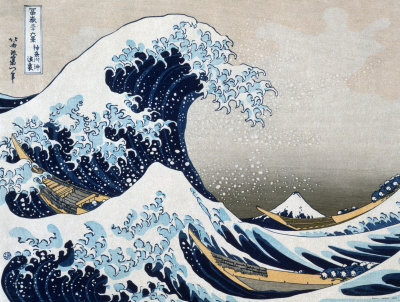 La grande vague de Kanagawa Reproduction d'art