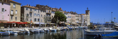 Boats Moored at a Harbor, La Ciotat, Bouches-Du-Rhone, Provence-Alpes-Cote D'Azur, France Photographic Print by  Panoramic Images