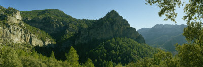 Panoramic View of a Mountain, Sierra De Segura, Jaen Province, Andalusia, Spain Photographic Print by  Panoramic Images