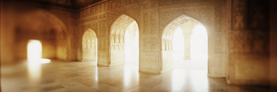 Interiors of a Hall, Agra Fort, Agra, Uttar Pradesh, India Photographic Print