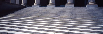Staircase of a Library, Harvard University, Cambridge, Massachusetts, USA Photographic Print by  Panoramic Images