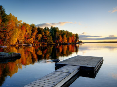 Maine, Baxter State Park, Lake Millinocket, USA Photographic Print by Alan Copson