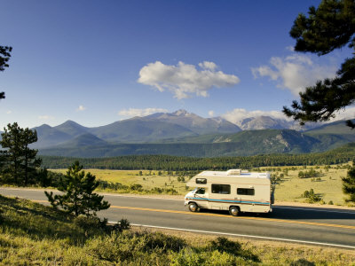 Trail Ridge Road, Rocky Mountain National Park, Estes Park, Colorado, USA Photographic Print by Michele Falzone