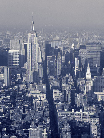 Empire State Building, New York City, USA Photographic Print by Jon Arnold