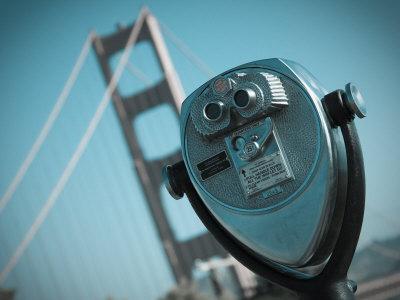 California, San Francisco, Golden Gate Bridge, USA Photographic Print by Alan Copson