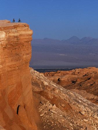 Mountain Biking in the Atacama Desert, Chile Photographic Print by John Warburton-lee