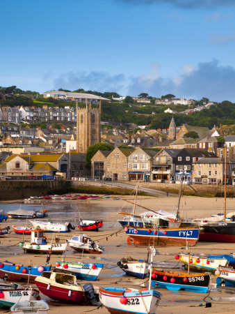 England, Cornwall, St Ives Harbour, UK Photographic Print