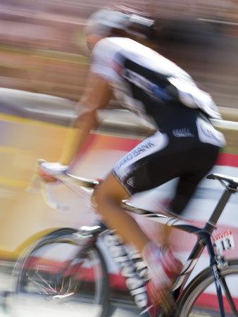 Le Tour De France, Foix, Ariege, Midi-Pyrenees, France Photographic Print by Doug Pearson