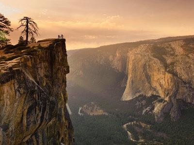 California, Yosemite National Park, Taft Point, El Capitan and Yosemite Valley, USA Photographic Print by Michele Falzone