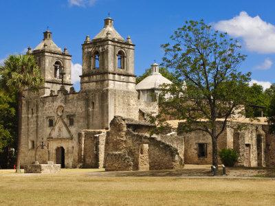 Mission Concepcion, San Antonio, Texas, United States of America, North America Photographic Print by Michael DeFreitas
