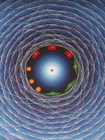 Tantric Cosmic Eye, Kathmandu, Nepal, Asia Photographic Print by  Godong