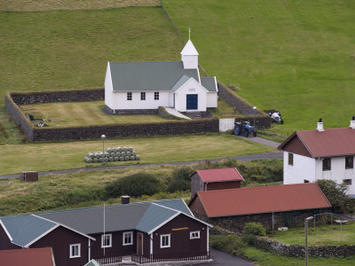 Church at dalur sandoy faroe islands denmark europe fotografisk