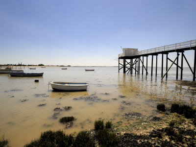Fishing Jetty, Fouras, Charente-Maritime, France, Europe Photographic Print by Peter Richardson