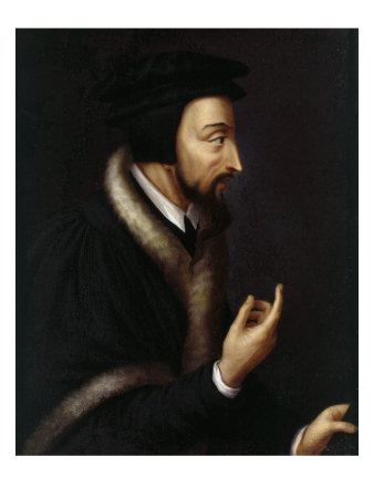 Jean Calvin, 1509-64 French Protestant Reformer Giclee Print by Henriette Rath
