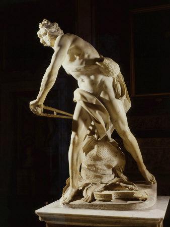 David, 1622-24, marble Photographic Print by Gian Lorenzo Bernini
