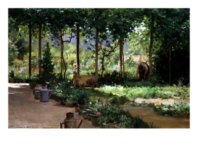 The Garden, 1879 reproduction procédé giclée