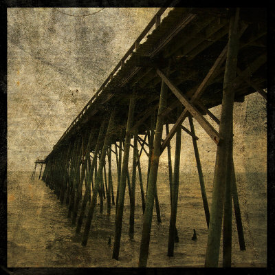 Ocean Pier No. 1 Prints by John Golden